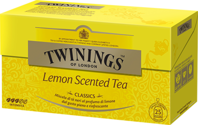 Te Twinings Lemon Scented 25 filtri