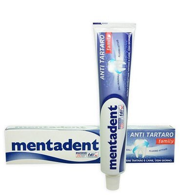 Dentifricio Antitartaro Family Mentadent 75 ml