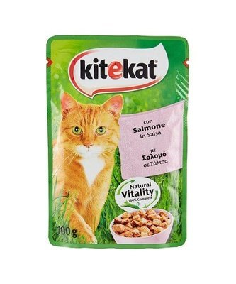 Kitecat Con Salmone Buste 100 g