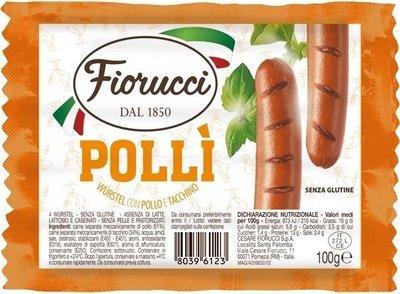 Wurstel Fiorucci Polli' 100 gr