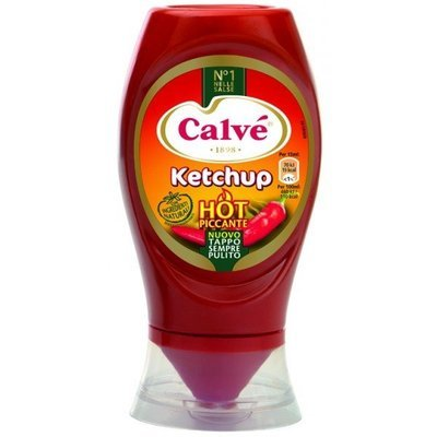 Top Down Ketchup Hot 250 gr