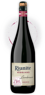 Lambrusco Amabile Igt Cantine Riunite 750 Ml