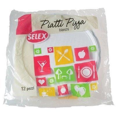 Piatti Per Pizza Selex 12 pz
