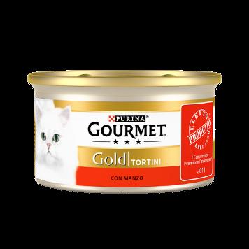Gourmet Gold Con Manzo Scatoletta 85 g