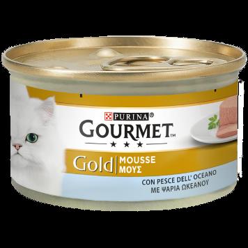 Gourmet Gold Con Pesce Dell'Oceano Scatoletta 85 g