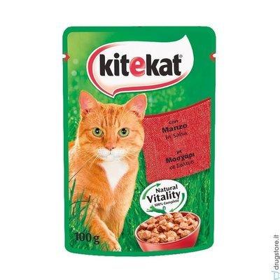 Kitecat Con Manzo Buste 100 g