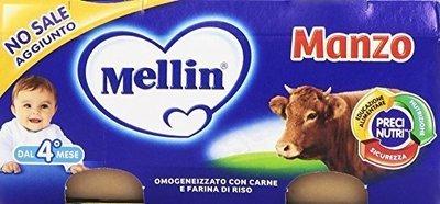 Omogeneizzati Di Manzo Mellin 160 gr