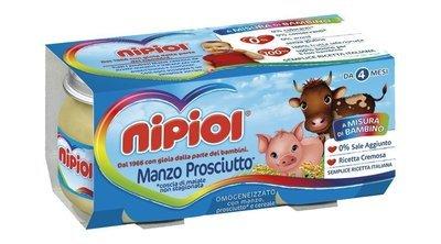 Omogeneizzati Manzo Prosciutto Nipiol 160 gr