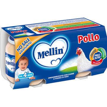 Omogeneizzati Di Pollo Mellin 160 gr
