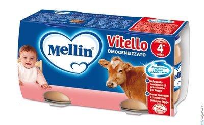 Omogeneizzati Di Vitello Mellin 160 gr