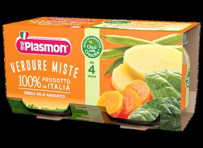 Omogeneizzati Verdure Miste Plasmon 160 gr