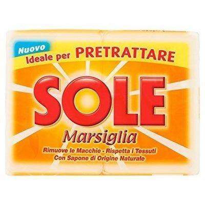 Sapone Sole Marsiglia 2 pz