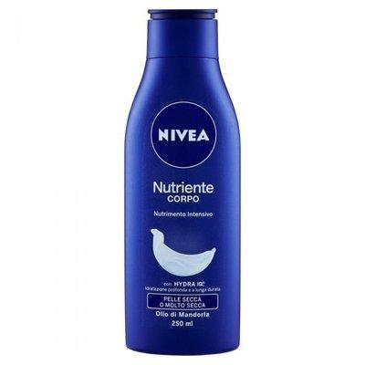 Crema Nutriente Corpo Pelle Secca e Molto Secca Nivea 250 ml