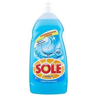Sole Piatti Liquido Brillantezza Blu 1,1 lt