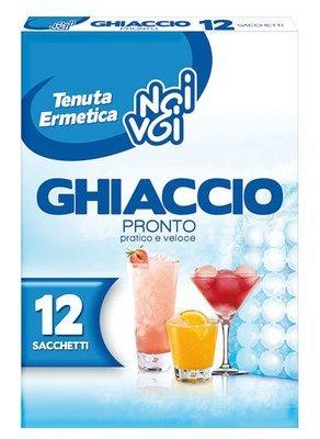 Sacchetti Ghiaccio Pronto Noi&Voi 12 pz
