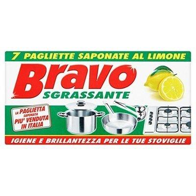 Bravo Paglietta Saponata Pentole 7 pz