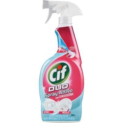 Cif Spray Duo Mousse con Candeggina 650 ml