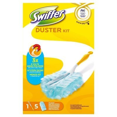 Swiffer Duster Kit Completo + 5 Piumini
