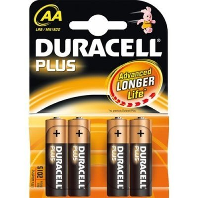 Pile Duracell Stilo AA 4 pz