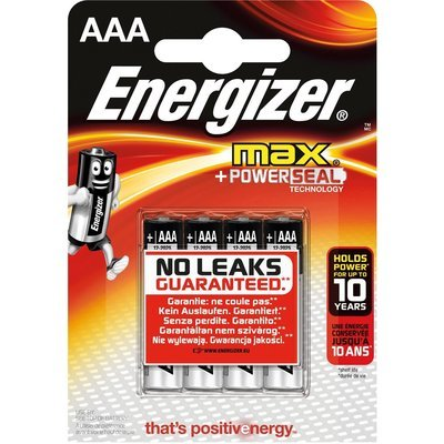 Pile Turbo Energizer Alcaline Ministilo AAA 4 pz