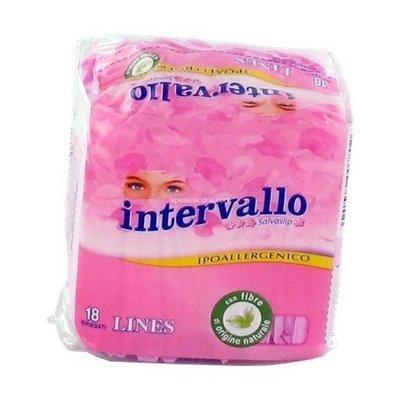 Proteggislip Intervallo Lines 18 pz