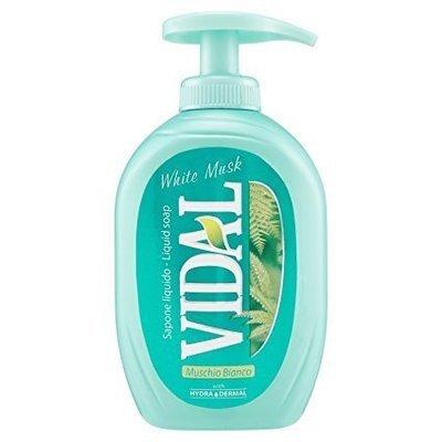 Sapone Liquido Muschio Bianco Vidal 300 ml