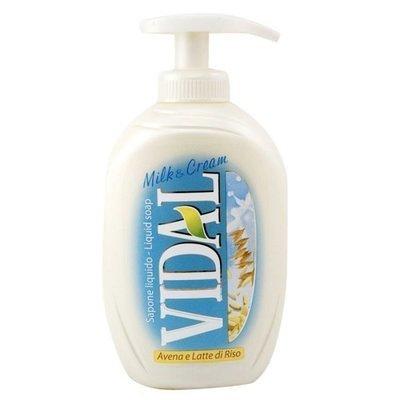 Sapone Liquido Avena e Latte di Riso Vidal 300 ml