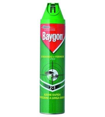 Spray Scarafaggi e Formiche Baygon 400 ml