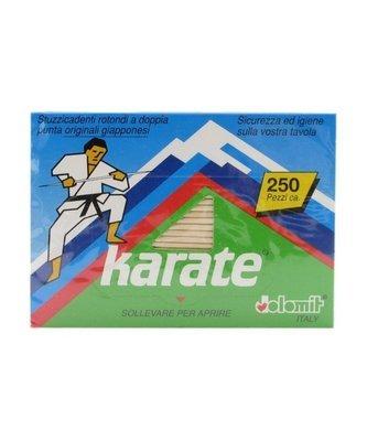 Stuzzicadenti a Doppia Punta Karate 250 pz