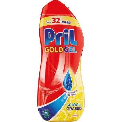 Pril Gold Gel 32 Lavaggi 650 ml