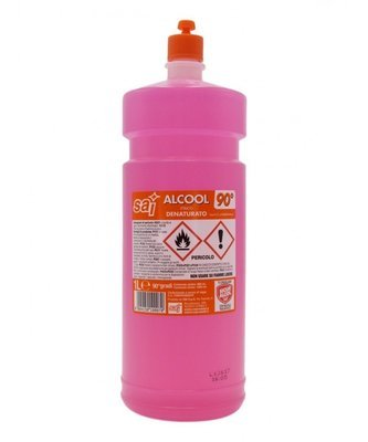 Alcool Denaturato 90° Sai 0,75 cl