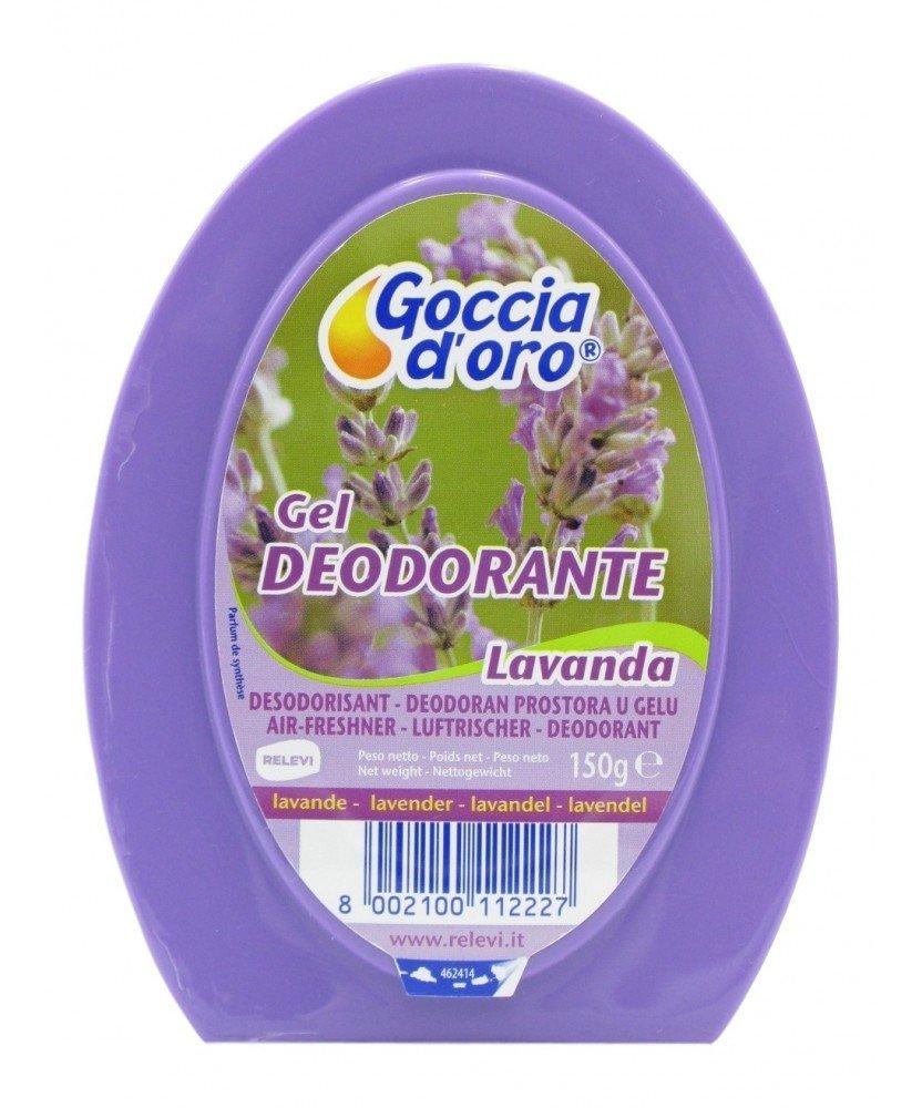 Deodorante Gel Lavanda Goccia d'Oro 150 gr
