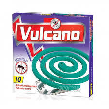 Spirali Antizanzare Vulcano 10 pz