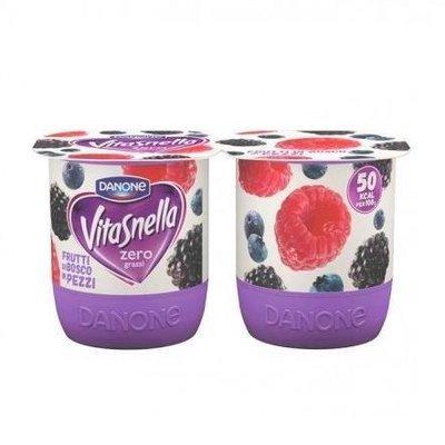 Vitasnella Yogurt Frutti Di Bosco 125 gr x 2