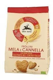 Frollini Bio Mele e Cannella Alce Nero 250 g