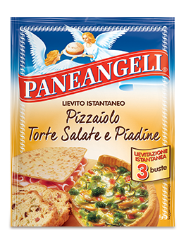 Lievito Pizzaiolo per Torte Salate e Piadine Paneangeli 3 pz