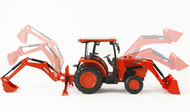 L6060 TRACTOR WITH BACKHOE AND LOADER