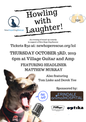 Howling with Laughter Ticket