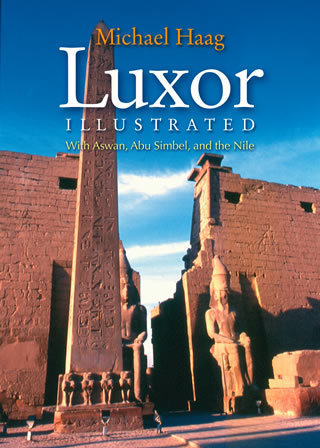 "Luxor Illustrated  With Aswan, Abu Simbel, and the Nile Soft Cover"" english edition"