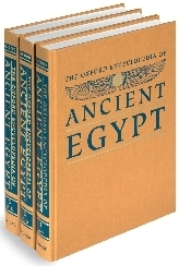 "The Oxford Encyclopedia of Ancient Egypt (3 Volume Set) ""Hard Cover""  english edition"