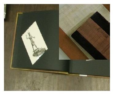 Papyrus/Leather Photo album