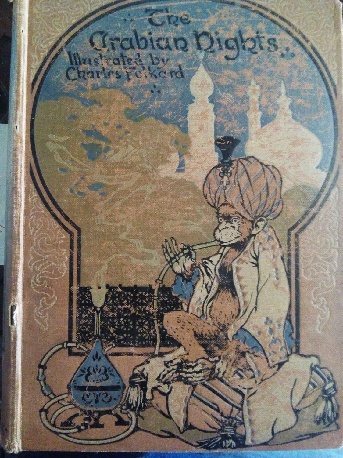 "The Arabian nights illustrated ""1913"""