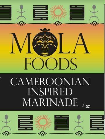 Cameroonian Inspired Marinade