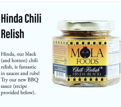 Chili Relish Hinda (black)