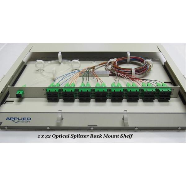 Optical Splitter Rack Mount Shelf
