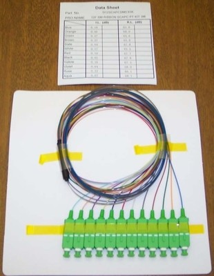 Color Coded Pigtails for Splicing
