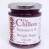 Strawberry and Bengal Naga Chilli Jam