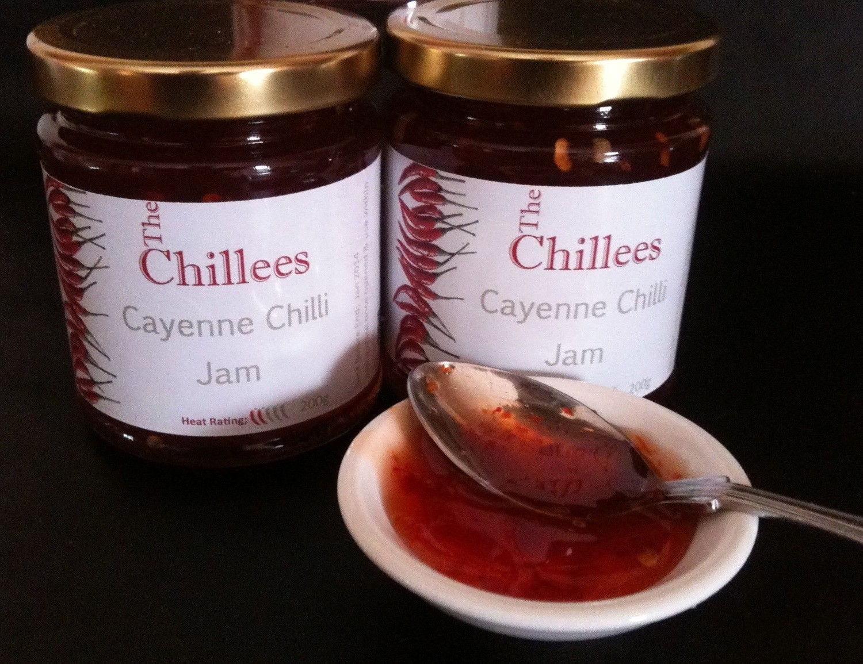 Cayenne Chilli Jam