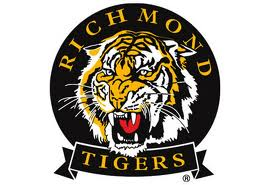 Richmond Tigers Face Paint