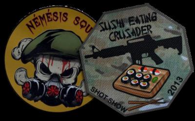 Custom Artwork And Logo Patches MutinyShop - Custom vinyl stickers no minimum